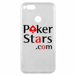 Чехол для Xiaomi Mi A1 Poker Stars