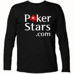 Футболка с длинным рукавом Poker Stars - FatLine