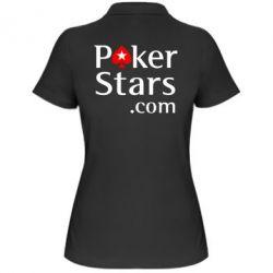 Женская футболка поло Poker Stars - FatLine