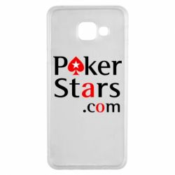 Чехол для Samsung A3 2016 Poker Stars