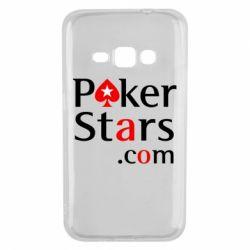 Чехол для Samsung J1 2016 Poker Stars