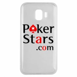 Чехол для Samsung J2 2018 Poker Stars