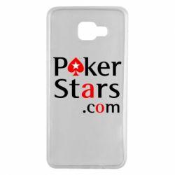 Чехол для Samsung A7 2016 Poker Stars