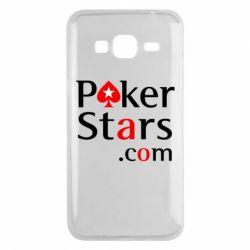 Чехол для Samsung J3 2016 Poker Stars
