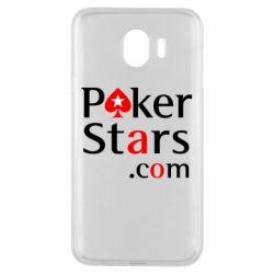 Чехол для Samsung J4 Poker Stars