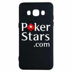 Чехол для Samsung J5 2016 Poker Stars