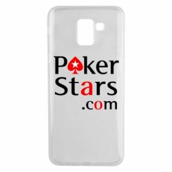 Чехол для Samsung J6 Poker Stars