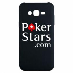 Чехол для Samsung J7 2015 Poker Stars