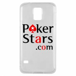 Чехол для Samsung S5 Poker Stars