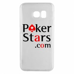 Чехол для Samsung S6 EDGE Poker Stars