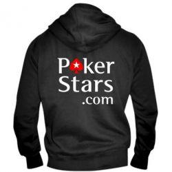 Мужская толстовка на молнии Poker Stars - FatLine