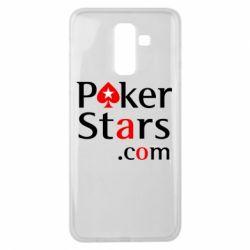 Чехол для Samsung J8 2018 Poker Stars
