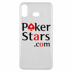Чехол для Samsung A6s Poker Stars