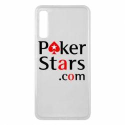 Чехол для Samsung A7 2018 Poker Stars