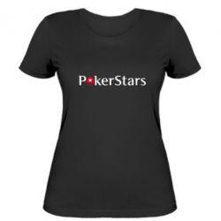 Женская футболка Покер Старс