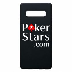 Чехол для Samsung S10+ Poker Stars