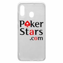 Чехол для Samsung A20 Poker Stars