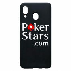 Чехол для Samsung A30 Poker Stars