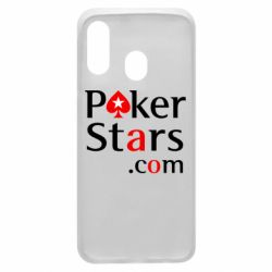 Чехол для Samsung A40 Poker Stars