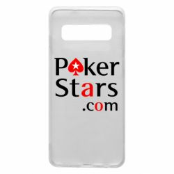 Чехол для Samsung S10 Poker Stars