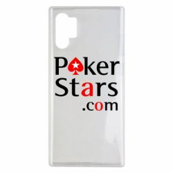 Чехол для Samsung Note 10 Plus Poker Stars