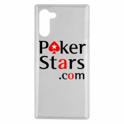 Чехол для Samsung Note 10 Poker Stars