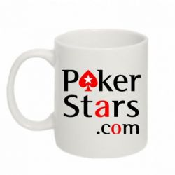 Кружка 320ml Poker Stars - FatLine