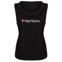 Женская майка Покер Старс - FatLine