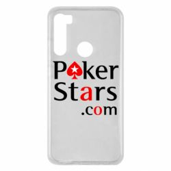 Чехол для Xiaomi Redmi Note 8 Poker Stars