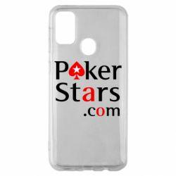 Чехол для Samsung M30s Poker Stars