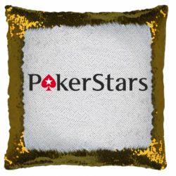 Подушка-хамелеон Покер Старс