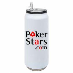 Термобанка 500ml Poker Stars