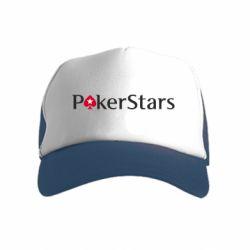 Дитяча кепка-тракер Покер Старс