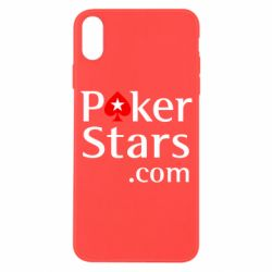 Чехол для iPhone X/Xs Poker Stars
