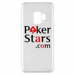 Чехол для Samsung S9 Poker Stars