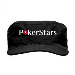 Кепка милитари Покер Старс