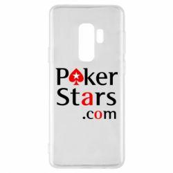 Чехол для Samsung S9+ Poker Stars