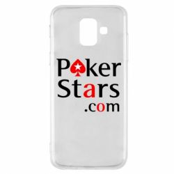 Чехол для Samsung A6 2018 Poker Stars