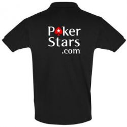 Мужская футболка поло Poker Stars