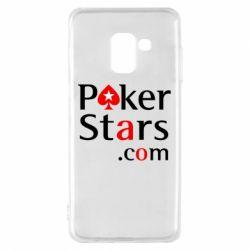 Чехол для Samsung A8 2018 Poker Stars
