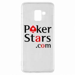 Чехол для Samsung A8+ 2018 Poker Stars