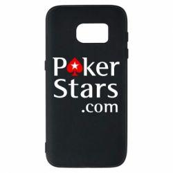 Чехол для Samsung S7 Poker Stars