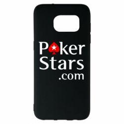 Чехол для Samsung S7 EDGE Poker Stars