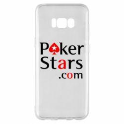 Чехол для Samsung S8+ Poker Stars