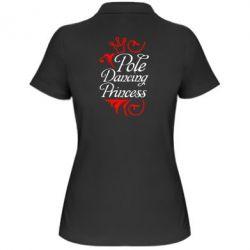 Женская футболка поло Pole Dancing Princess - FatLine