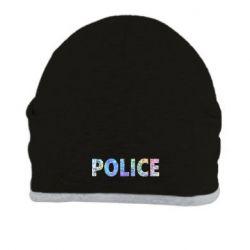 Шапка Police голограмма