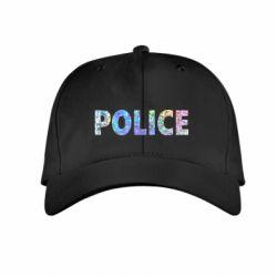 Детская кепка Police голограмма