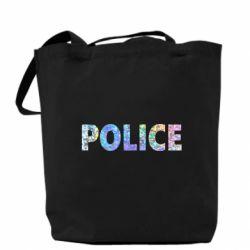 Сумка Police голограмма