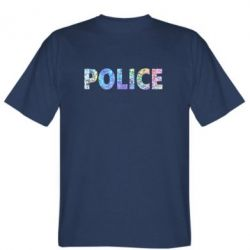 Футболка Police голограмма