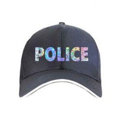 Кепка Police голограмма